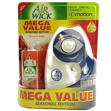 Londres Xardi Airwick Mini freshmatic I-motion compacto automático Sensor Spray unidad para vino caliente