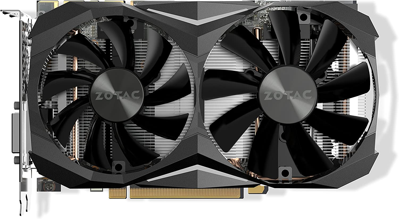 Zotac ZT-P10810G-10P Scheda Graficha GTX 1080Ti da 11 GB, 3584 Core, 1506MHz GPU, 1620MHz Boost, Nero