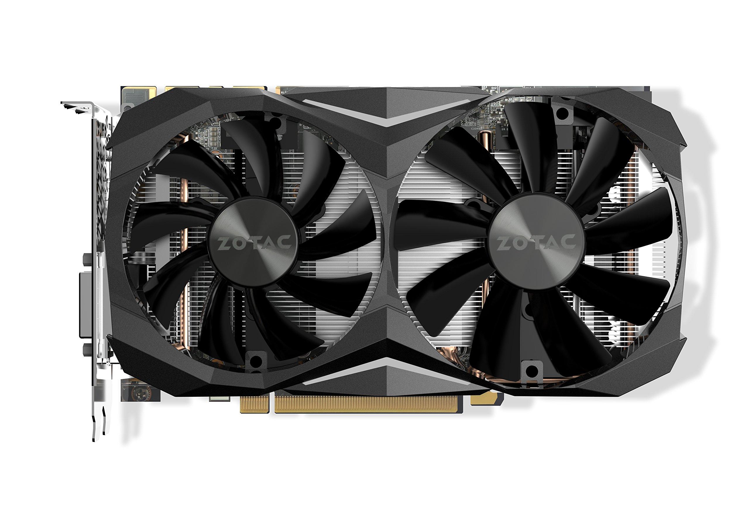 ZOTAC NVIDIA GeForce GTX 1080 Ti Mini 11GB GDDR5X DVI/HDMI/3DisplayPort PCI-Express Video Card by ZOTAC (Image #2)