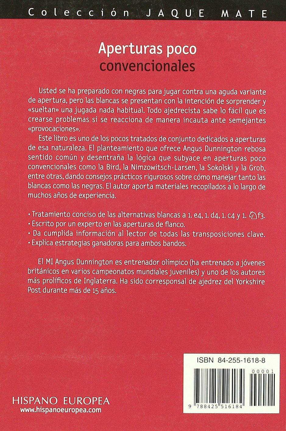 Aperturas Poco Convencionales Jaque Mate Amazon Es Angus  # Muebles De Cocina Jaque Mate