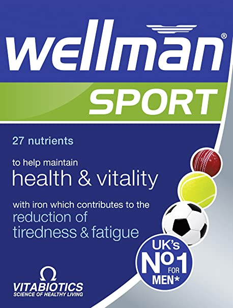 Vitabiotics | Wellman Sport Tablets | 1 X 30S