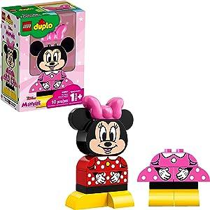 LEGO DUPLO Disney Juniors My First Minnie Build 10897 Building Bricks, 2019 (10 Pieces)