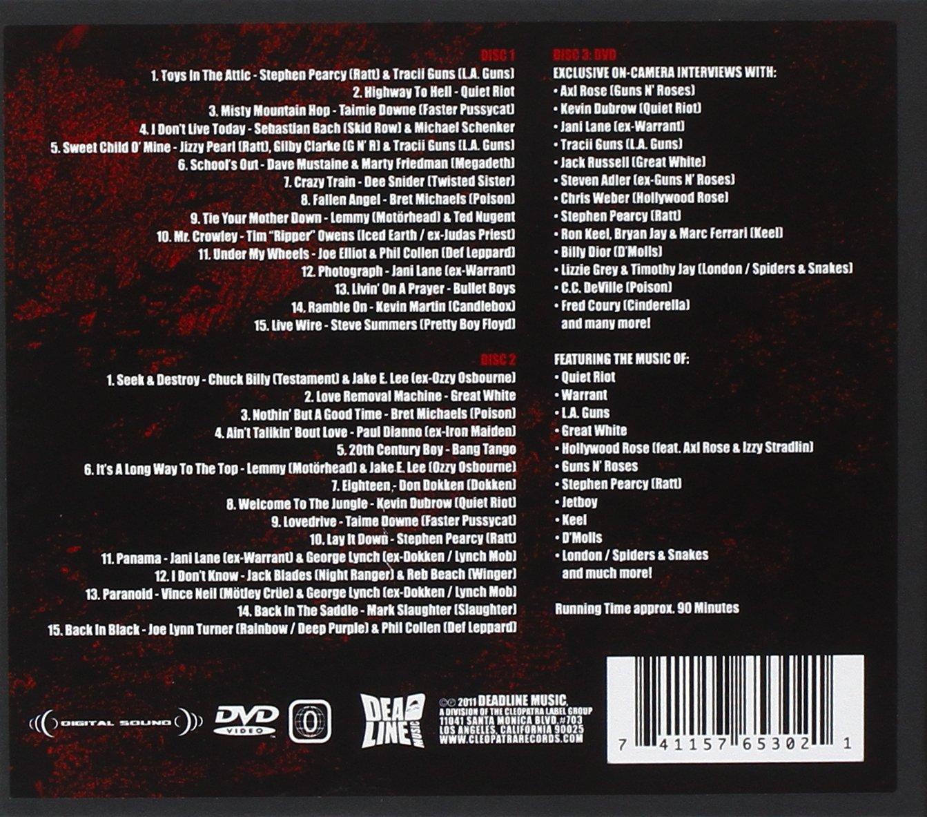 80S Metal-Sound & Vision: 80S Metal Sound, Vision: Amazon ...