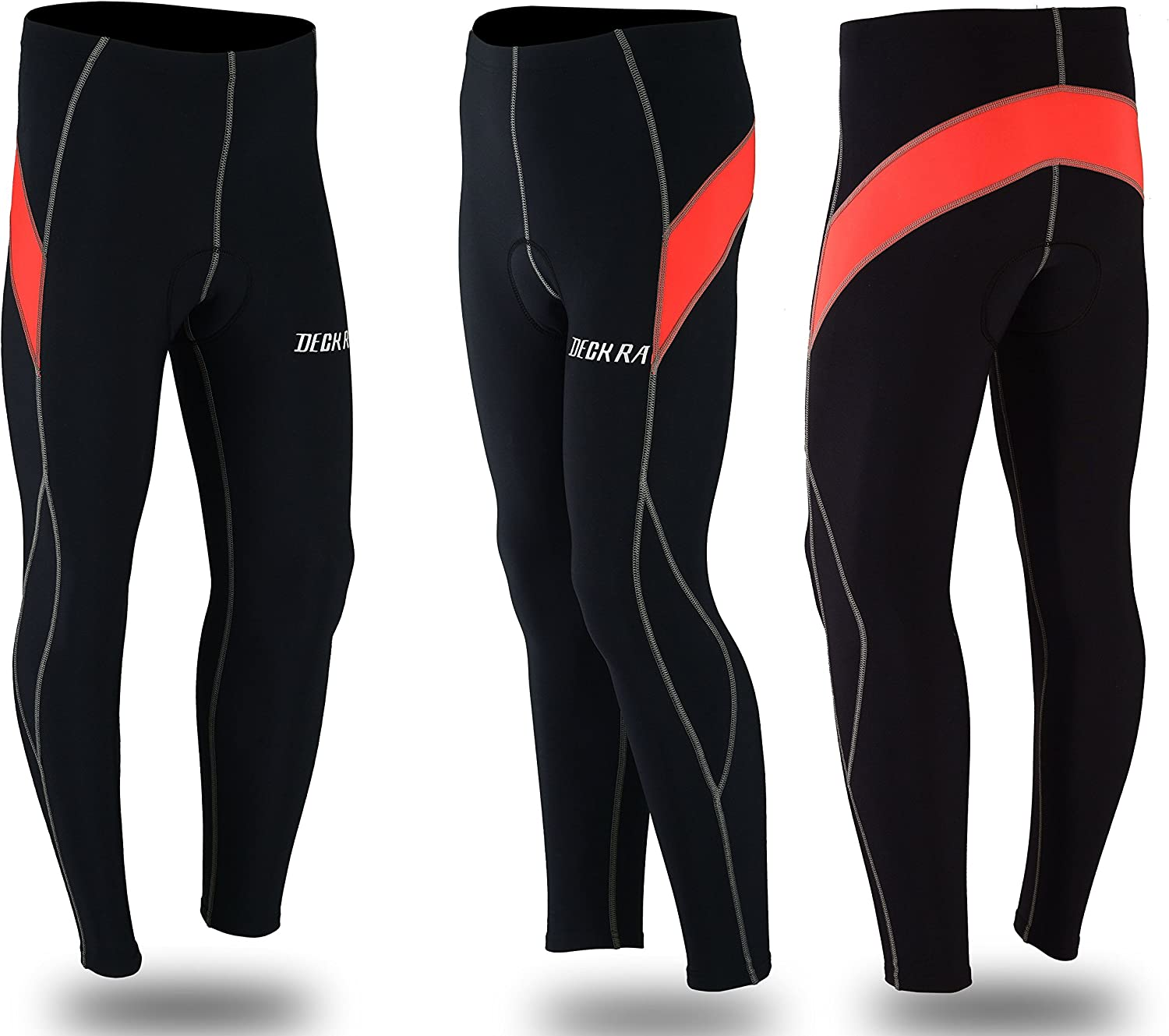 Deckra Mens Cycling Trouser Thermal Tight Pants Roubaix Bicycle Tight Leggings