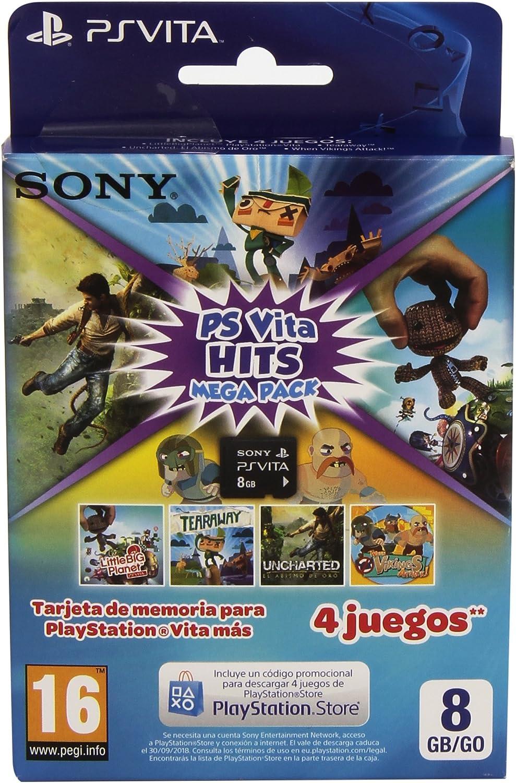 Sony - Memory Card 8 GB Hits Mega Pack (PlayStation Vita): Amazon ...