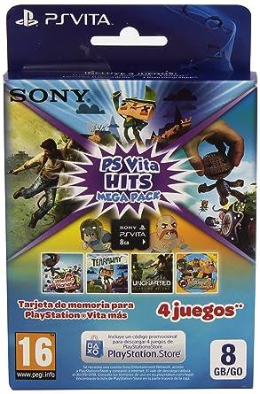 Sony - Memory Card 8 GB Hits Mega Pack (PlayStation Vita ...