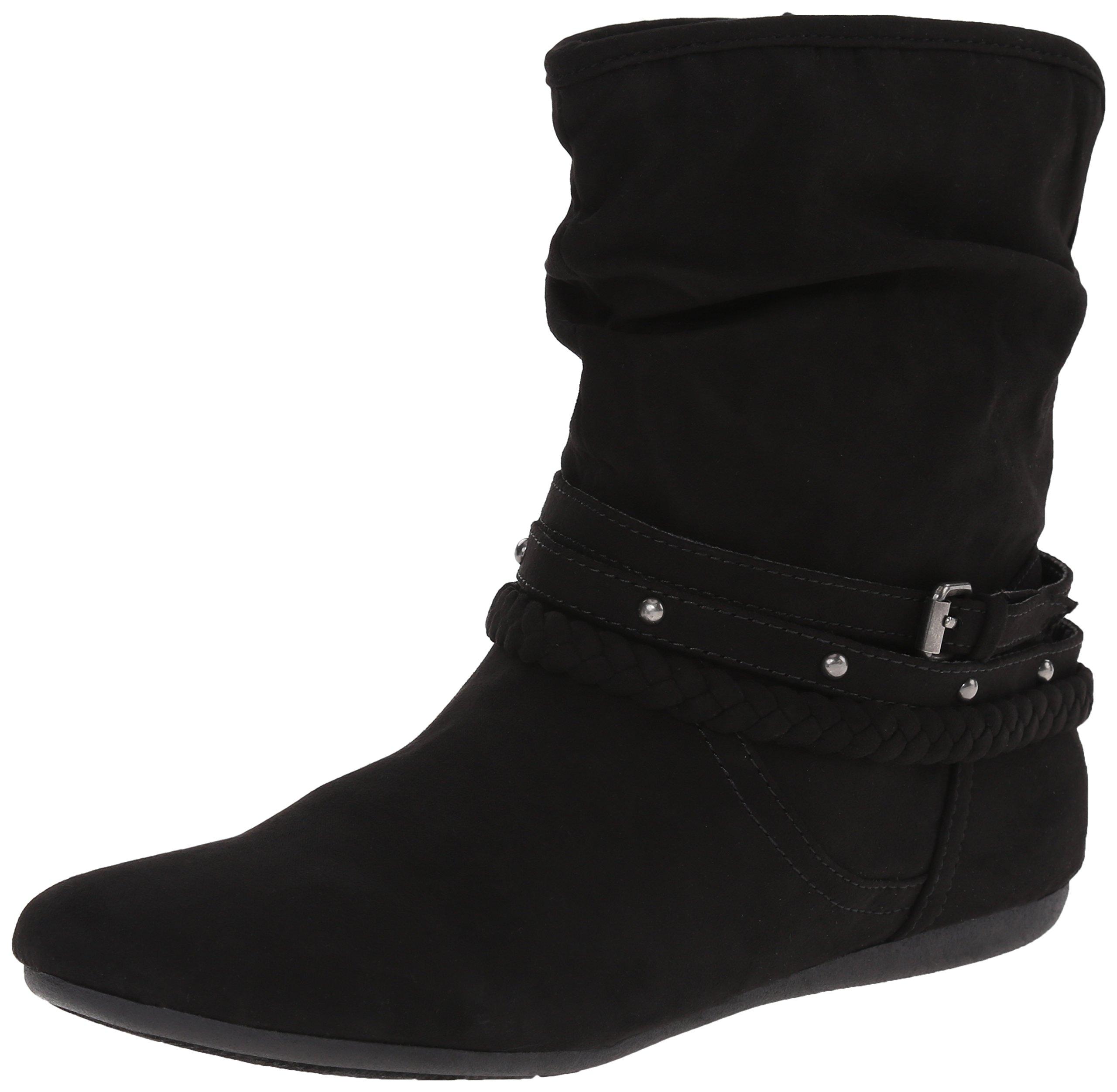 Report Women's Elson Western Boot, Black, 10 M US