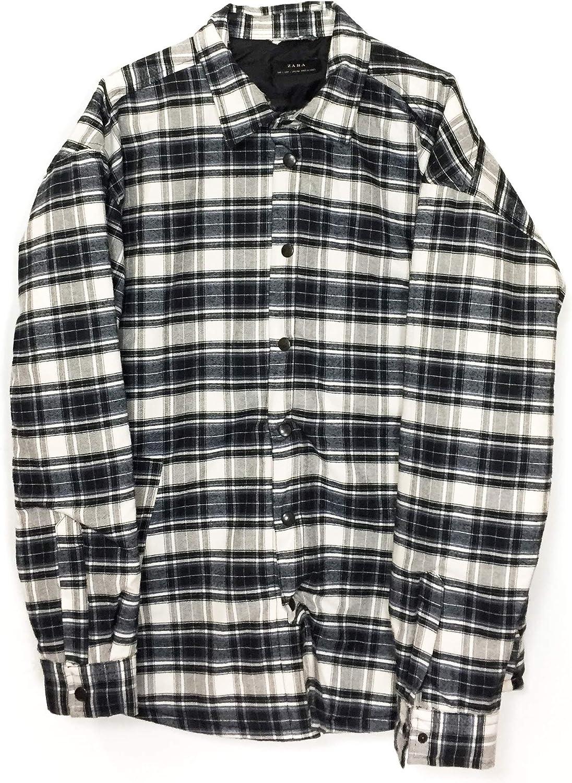 Zara - Camisa Casual - para Hombre Negro XL: Amazon.es: Ropa ...