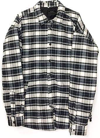 Zara - Camisa Casual - para Hombre Negro XL: Amazon.es: Ropa y accesorios