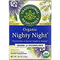 Organic Nighty Night Relaxation Tea (Pack of 1), Promotes a Good Night's Sleep, 16 Tea Bags Pack of 2