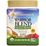 Sunwarrior - Warrior Blend, Raw, Plant Based, Organic Protein, Natural, 15 servings