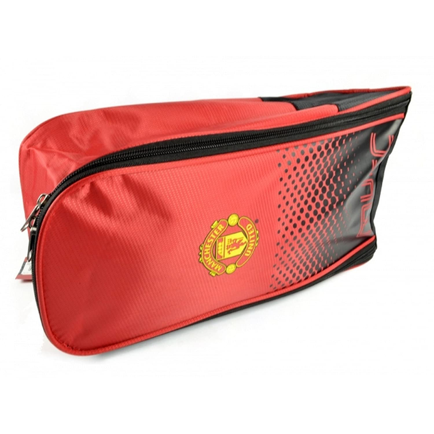 Manchester United FC Official Football Fade Design Bootbag (One Size) (Red/Black)
