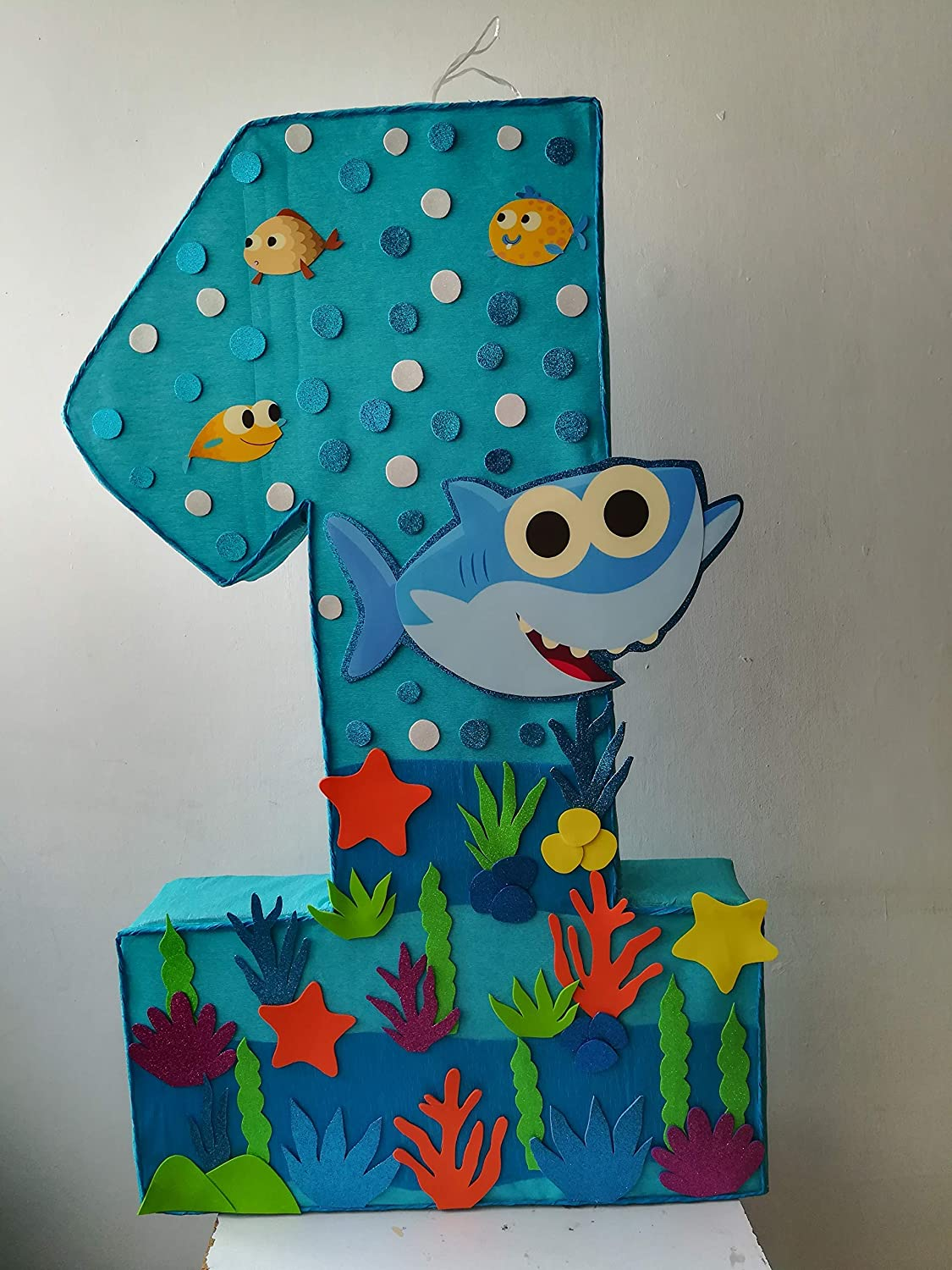 Amazon.com: baby shark pinata, under the sea birthday party ...