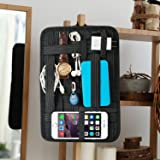 Kopack Electronics Organizer Board Cord Gadget Organizer With Storage bag for Power Bank/Charging Cable/Digital Device