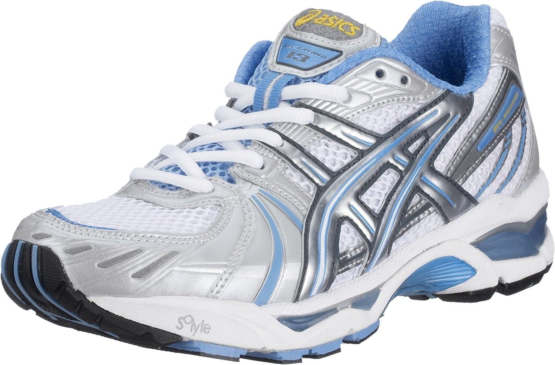 Asics Gel Kayano 13 TN750 – 0193 – Zapatillas de Running para Mujer, Color Blanco (White/Quick Silver/Periwinkle o193), Color Blanco, Talla 39: Amazon.es: Zapatos y complementos