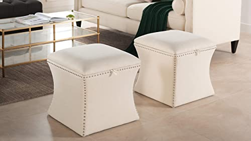 Jennifer Taylor Home Holly Storage Ottoman