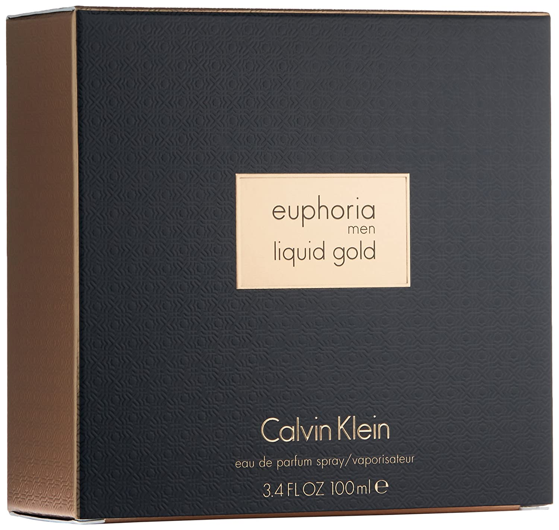 12c8b6f23 Liquid Gold Euphoria by Calvin Klein for Men - Eau de Parfum, 100 ml:  Amazon.ae