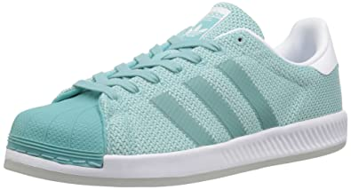 adidas Originals Women's Superstar Bounce W, EASMIN,FTWWHT, 5.5 Medium US