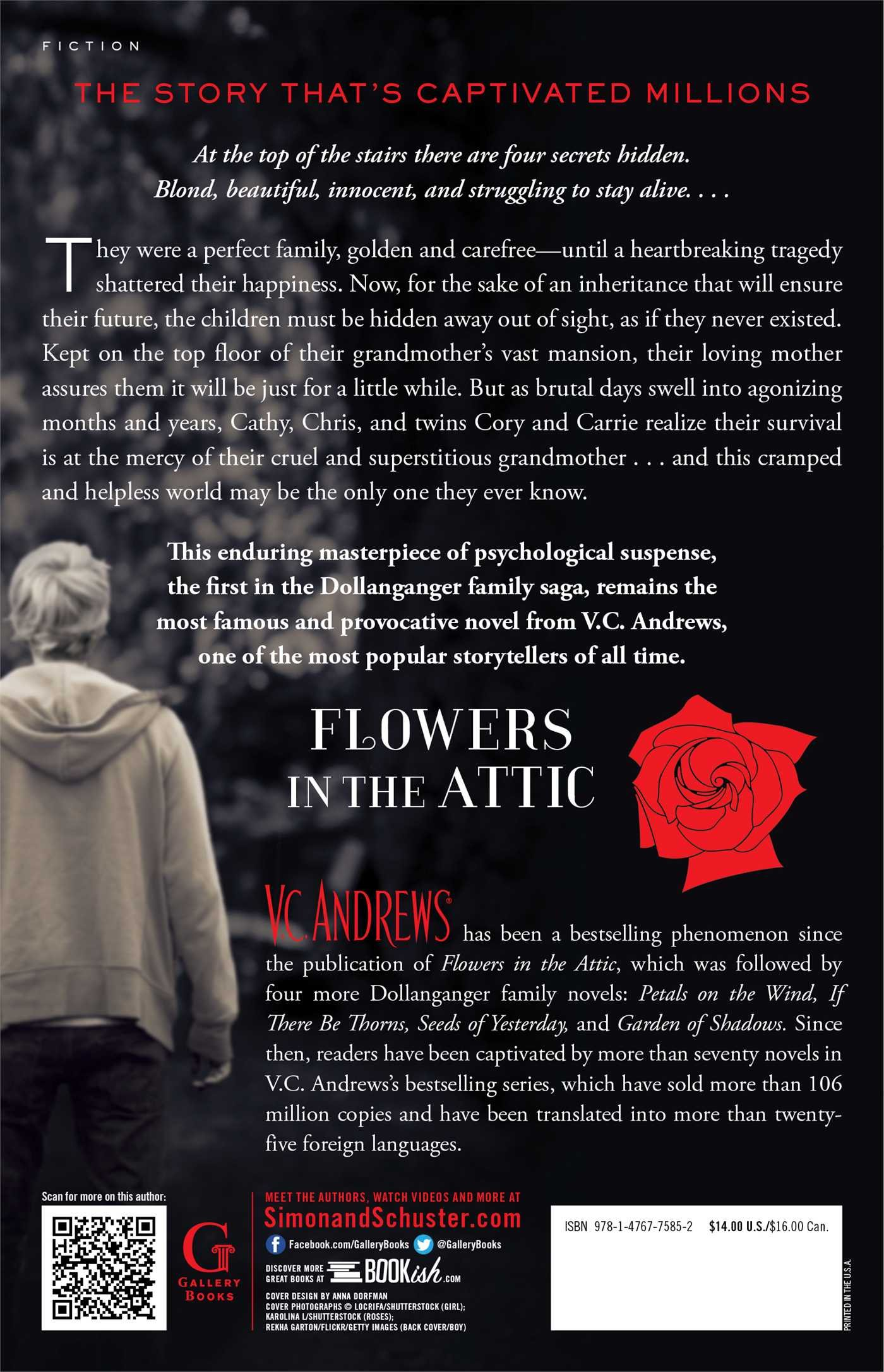 the book attic cover Flowers in