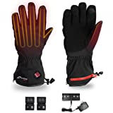 VentureHeat Unisex-Adult Alt Battery Heated Gloves Large Black