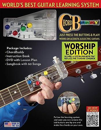 Amazon Chord Buddy 124638 Guitar Learning System Worship