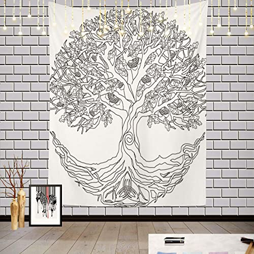 Batmerry Tree of Life Celtic Tapestry