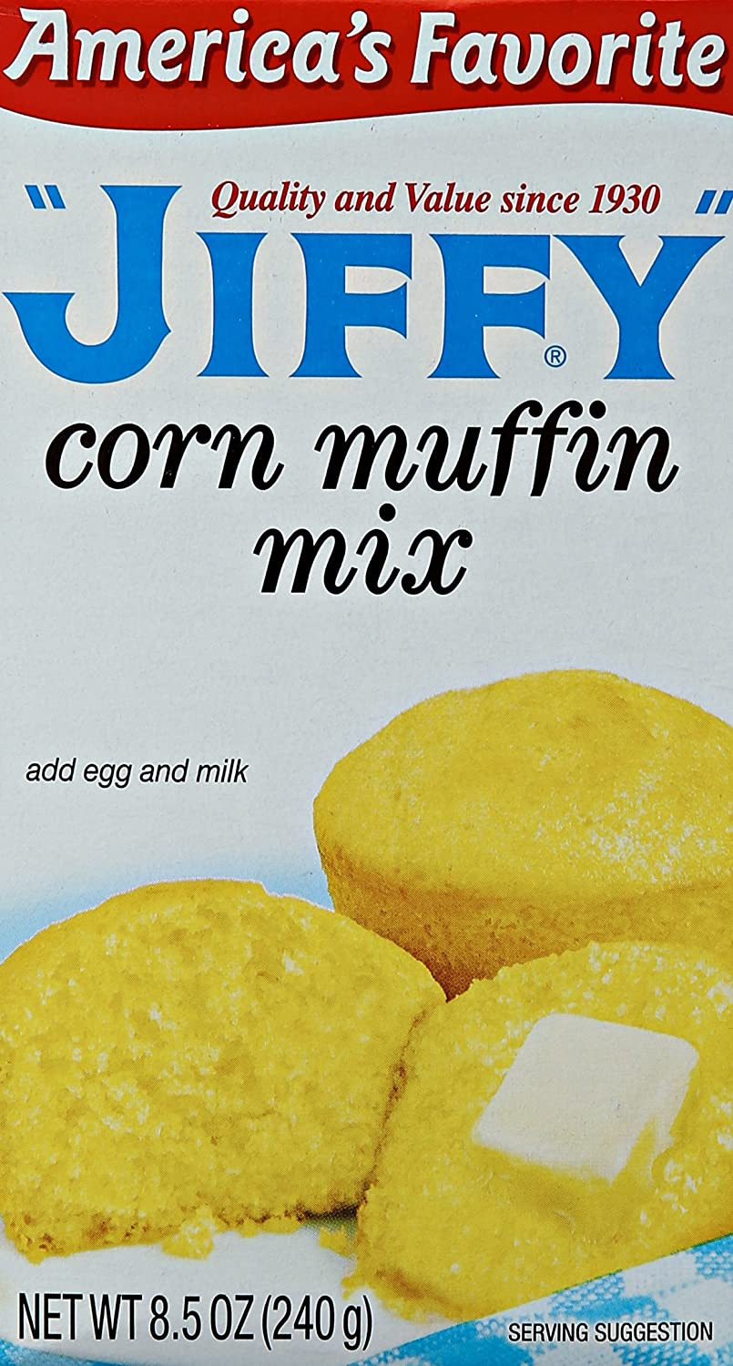 Jolly Time Jiffy Corn Muffin Mix, 8.5 oz (6 Pack)