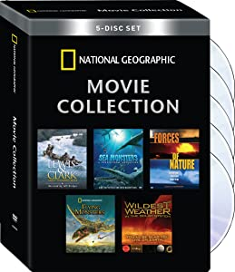 National Geographic Movie Collection (Wildest Weather/Flying Monsters/Sea Monsters/Lewis&Clark/Sea Monsters/Forces of Nature)