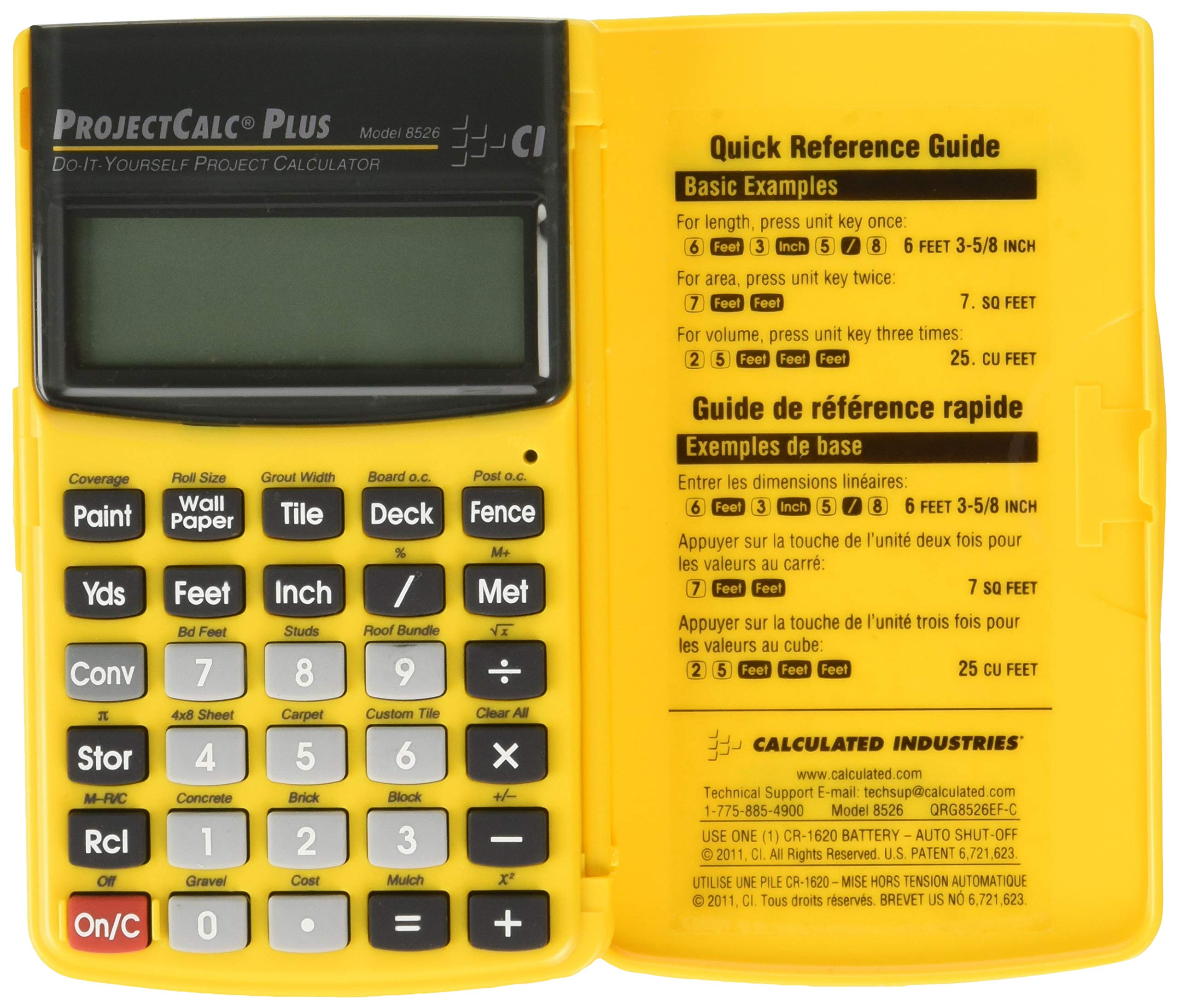 CALCULATED INDUSTRIES, Project Calc Plus Mx, CD