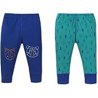 Lamaze Organic Baby Baby Boys' Pull on Jogger 2 Pack Pants