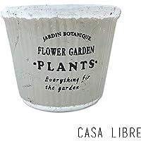 Cachepot Pottery, Casa Libre, Cinza