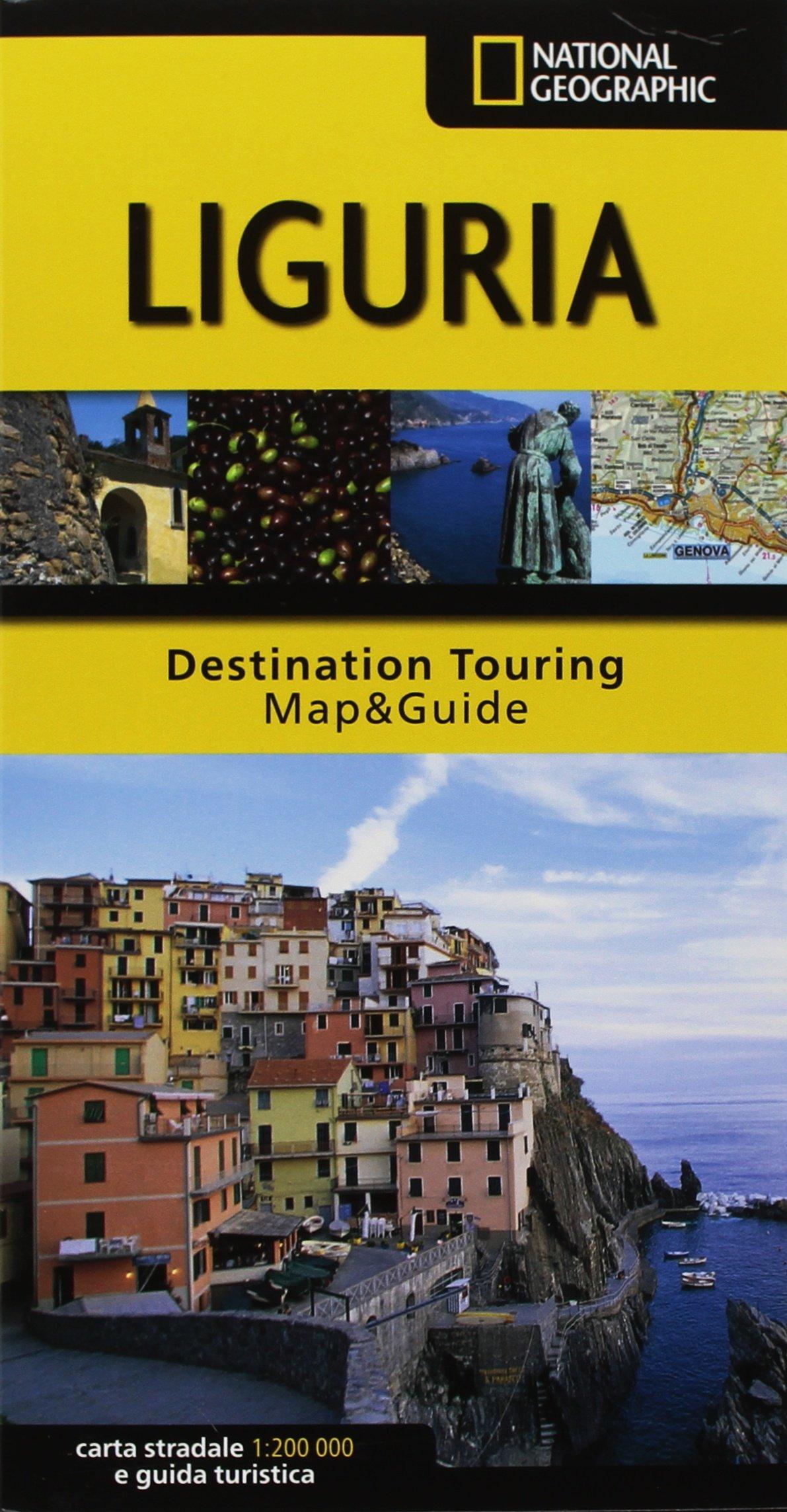 Cartina Stradale Liguria toscana