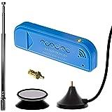 Nooelec NESDR Mini 2+ 0.5PPM TCXO RTL-SDR & ADS-B USB Receiver Set w/Antenna, Suction Mount & Female SMA Adapter…