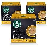 STARBUCKS Blonde Espresso Roast by NESCAFÉ Dolce Gusto Coffee (3X12 Capsules)