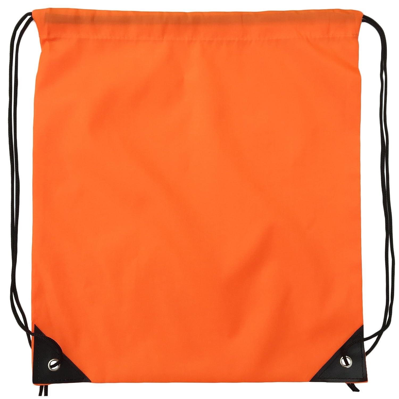 Zenwow Drawstring Bag Sport Gymsack Waterproof PE DUFFLE School Backpack...