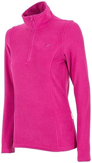 190001a6e560 Thermounterwäsche 4F BIDP001 Fleeceunterwäsche weiche Fleecejacke leichte  Pullover für Damen Polar für Skifahren und Winter geeignet