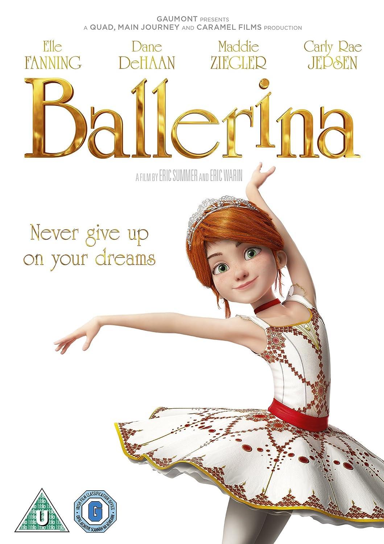 ballerina dvd amazon co uk elle fanning dane dehaan carly rae