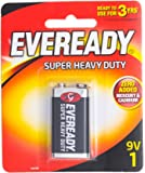 Eveready Super Heavy Duty 1222BP-1 9V, 1ct