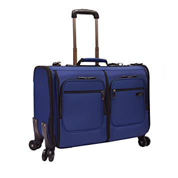 d54e8081bb12 US Traveler Stimson Softshell Carry-On Spinner Garment Bag - Blue (31-Inch)