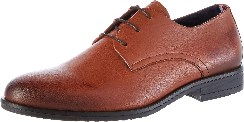 Tommy Hilfiger Core Leather Lace Up Shoe, Mocasines para Hombre