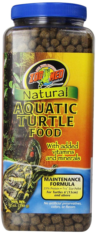 Zoo Med Zoom Crecimiento Natural de la Tortuga acuática de Alimentos, CROCI ZM52
