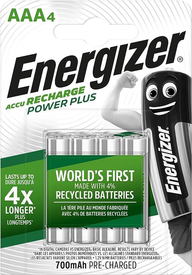 Energizer Aaa Batteries Recharge Power Plus Battery 4 Elektronik