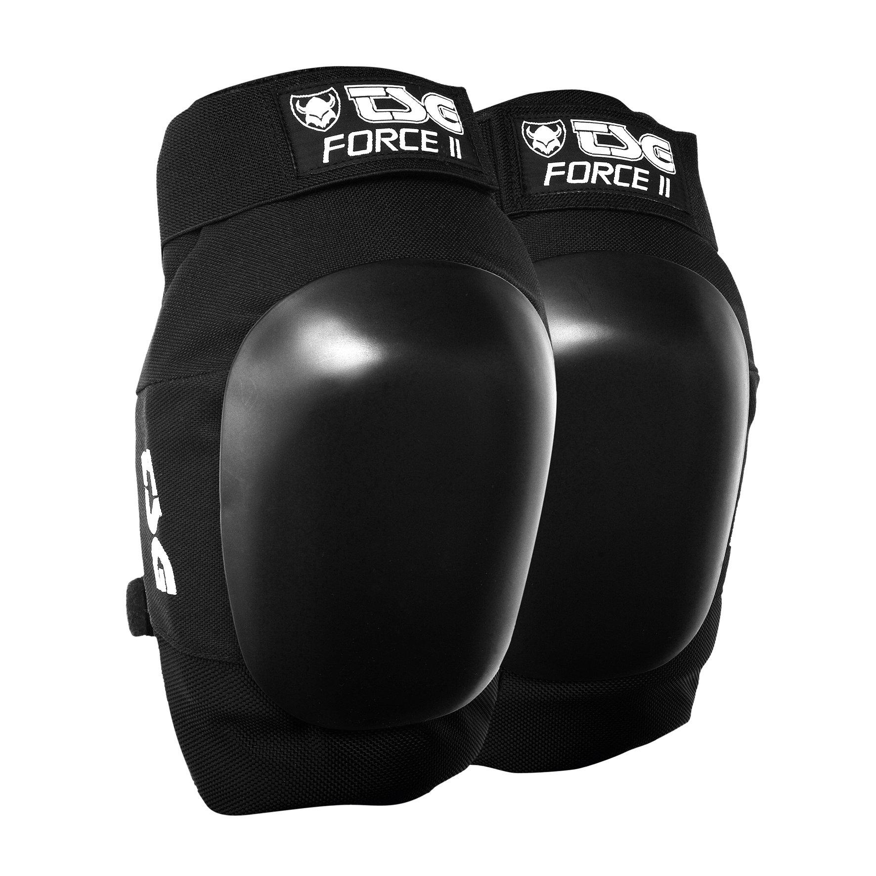 TSG Black Force 2 Knee Pad, Large by TSG