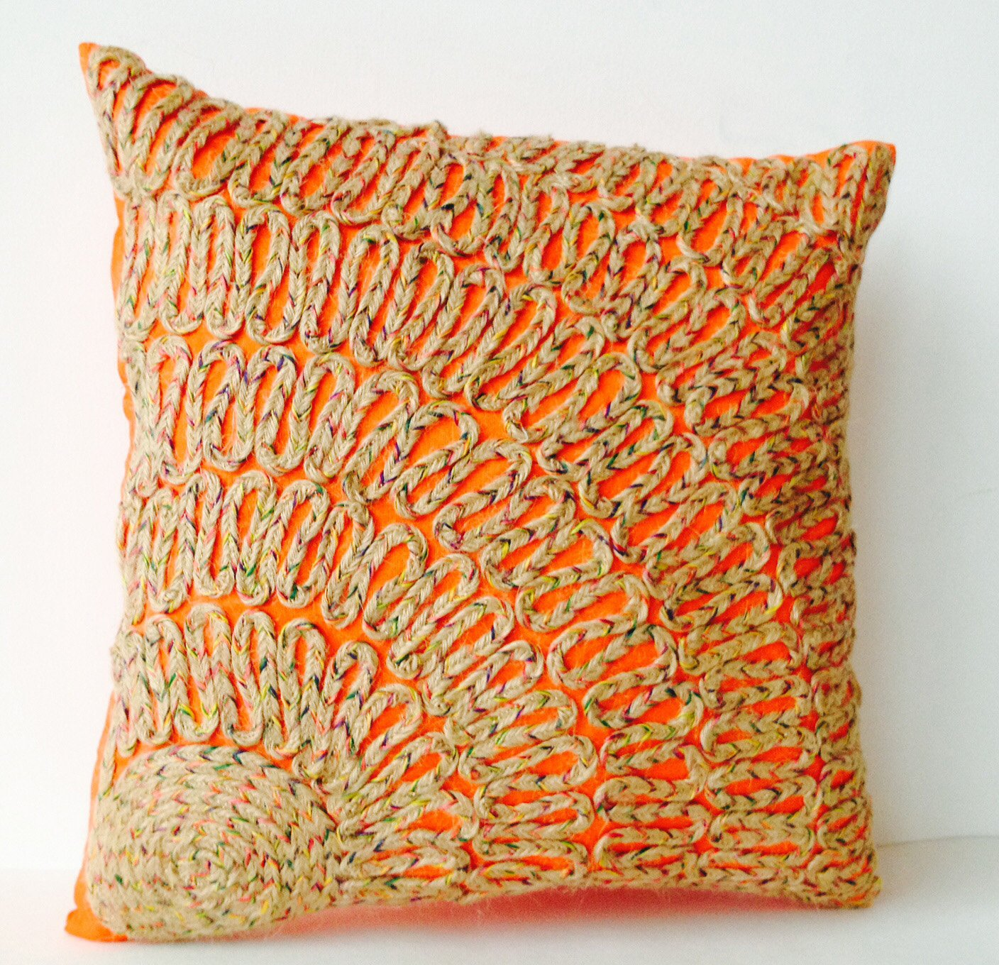 home pillows pillow throw ob baxter orange overload with