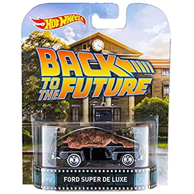 48 Ford Super De Luxe Back To The Future Hot Wheels 2015 Retro Series 1/64 Die Cast Vehicle: Toys & Games