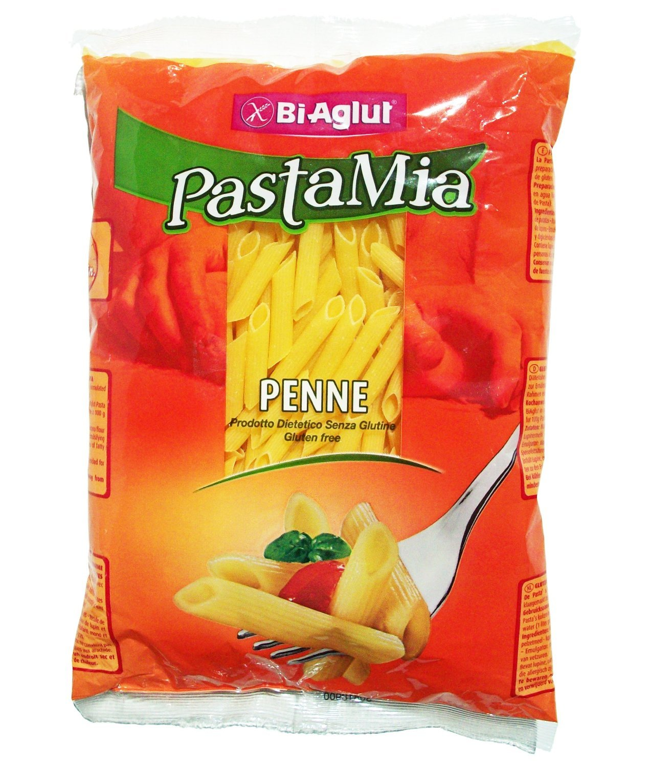 Biaglut Gluten-free Penne Pasta, 17.6 Ounce Packages (Pack of 3) by BiAglut