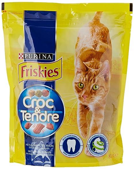 Friskies Croc & Suave pienso para Gato Adulto Sabor ...