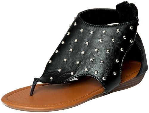 ec1c3cbf662014 Womens Roman Gladiator Sandals Flats Shoes W Studs (6