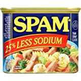 Spam 25% Less Sodium (pack of 12)