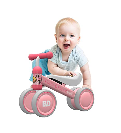 99022c9db YGJT Bicicleta sin Pedales Bebé Juguetes Bebes 1 año 10 Meses a 24 Meses  Regalo Elección